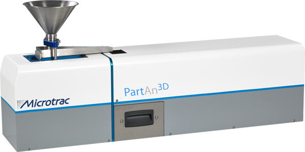 PartAn 3D for 3D Imaging of Dry Powders